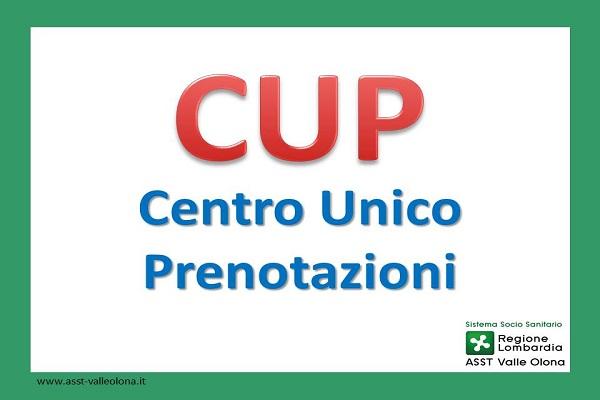 Orari CUP