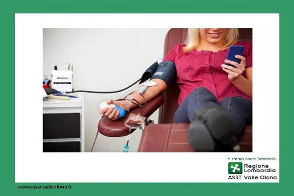 Avviso per i donatori di sangue